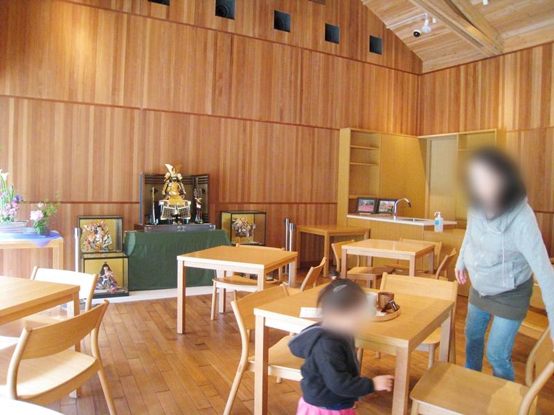 とらやカフェの喫茶席