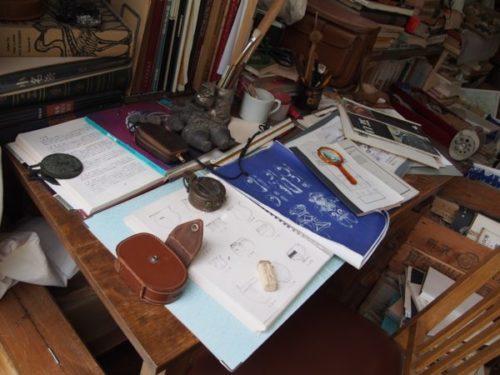 モリコロパークサツキとメイの家のお父さんの書斎