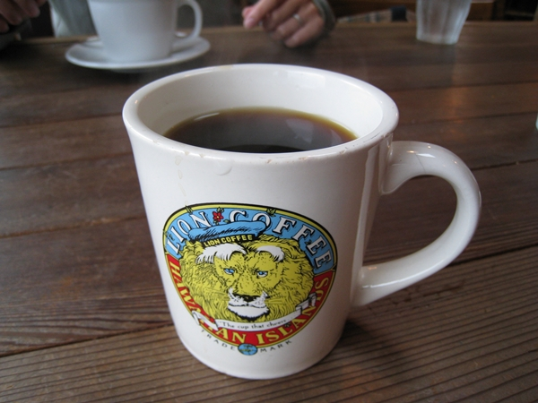 サウスカフェのコーヒー