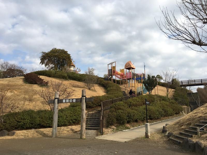 秋葉山公園冒険の砦