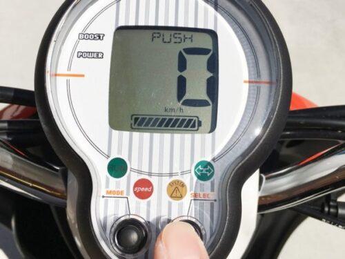電動バイクE-vinoの走り