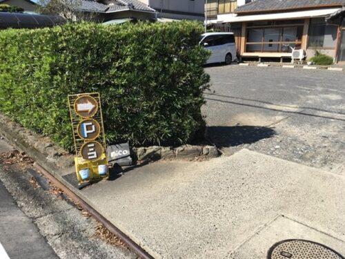 ぱんやnico(ニコ)の駐車場